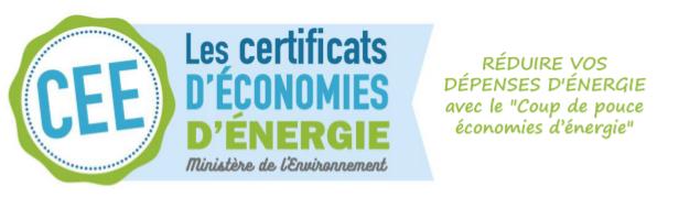 logo coup de pouce économies d'énergie certificats d'économies d'énergie