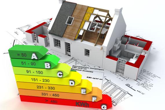 maison étiquette énergie efficacité énergétique